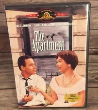 The Apartment (1960) Dvd Jack Lemon Shirley MacLaine Mgm/Ua 2001 Mint Disc