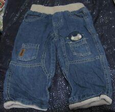 Great TU boys jean style trousers Monkey design 12 - 18 months