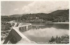 Santeetlah Dam NC * 1938 W.M. Cline RPPC  Graham Co.  TVA