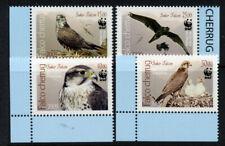 Kyrgyzstan A fine Marginal set of Birds of Prey stamps MNH
