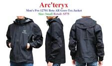 New Men's Pro Arc'teryx Arcteryx 12701 Beta AR Gore-Tex Small Black Jacket $575
