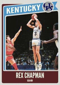 Custom Card Rex Chapman Kentucky Wildcats SEC Legends