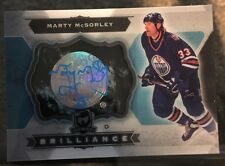 2014-15 The Cup Marty McSorley Auto 1:12 Boxes Brilliance Upper Deck 14/15 SP