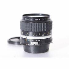 Nikon Nikkor 2,0/35 AIS - Ai-S 35mm F/2 - Ai/S 2.0 / 35 mm Objektiv für Nikon F