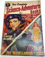 Two Complete Science-Adventure Books #7 - US Pulp – Winter 1952 - Heinlein