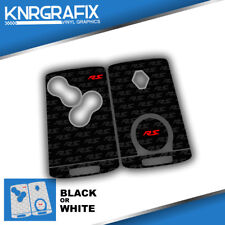 KNR0020 CLIO MK4 RS RENAULT - MEGANE MK3 KEYFOB SKIN - KEY STICKER - 2 CHOICES