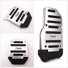 Manual Aluminium 3 PCS Car Nonslip Brake Clutch Pedal Cover Set Foot Treadle