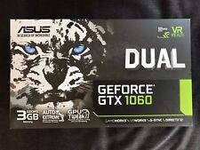 ASUS NVIDIA GeForce GTX 1060 Dual (3 go) carte graphique