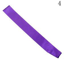 Basic Plain Blank Hen Party Satin Sash Ribbon DIY Do Baby Shower Retirement