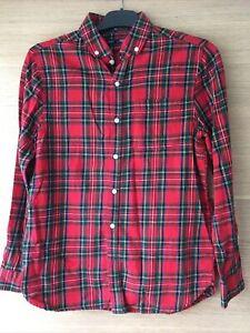 Next Girls Check Flanell Shirt Age 12yrs
