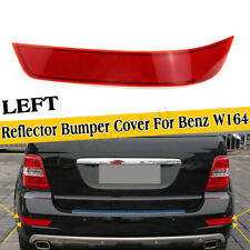 Left Rear Tail Light Bumper Reflector Red Cover For Mercedes-Benz W164 GL320