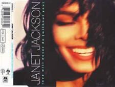 Janet Jackson: Love Will Never Do w/ Artwork MUSIC AUDIO CD Single A&M 390606-2