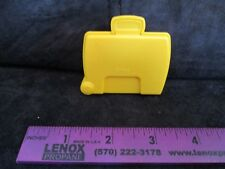 Fisher price Little People Yellow suitcase luggage airplane airport part bag box