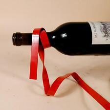 Red Handmade Magic Floating Lasso Wine Bottle Holder Plating Process Home Decor