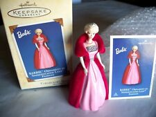 Hallmark 2002 BARBIE SOPHISTICATED LADY FASHION Collector's Series Ornament NIB