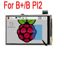 "3.5"" TFT LCD Touch Screen Module SPI RGB Display For Raspberry Pi 2 3 B+/B PI3 2"