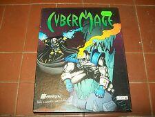 RETROGAME PC: CYBERMAGE BIG BOX CARTONATO ITALIANO CTO CONTOVENDITA