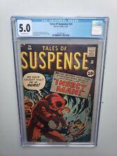 Tales of Suspense #24 CGC 5.0 Marvel Comics Silver Age Horror