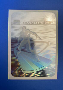 1990 Marvel Impel Universe Series 1 Silver Surfer Hologram Card MH3  Holo