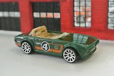 Hot Wheels Loose - Triumph TR6 - Green - 1:64