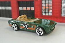 Hot Wheels Triumph TR6 - Green - Loose - 1:64