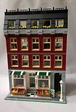 FRESH - LEGO CUSTOM MODULAR BUILDING - GROCERY STORE & 5 FURNISHED APARTMENTS