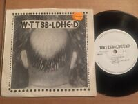 WattsBaldHead EX RARE PRIVATE punk new/no wave EP HEAR