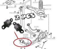 x2 Rear Axle Suspension Trailing Control Arm Wishbone Bushes Bushing Mazda 5