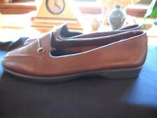 New Naturalizer Womens Size 7.5 Medium  Brown Soft Leather Loafer