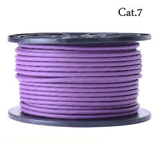 High Quality 50m Cat 7 SSTP 10GIG High Speed Ethernet Network Cable, Purple