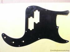 Precision Bass guitar pickguard 3 strati nero scratch plate pick guard PB bwb-b