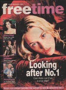 KATE WINSLET - ANASTACIA - ANNA FRIEL - Vintage British CULTURE Magazine 2001