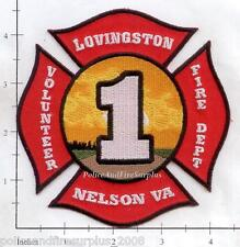 Virginia - Nelson - Lovingston VA Volunteer Fire Dept