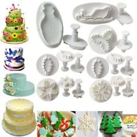 39 Styles Pastry Cutter Tools DIY Sugar Craft Molds Cake Icing Fondant Plunger