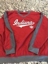 Men's - KA Knights Apparel - Indiana University Pullover Golf Wind Shirt Med