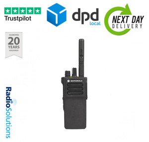 Motorola DP4400e UHF Digital Two Way Radio Walkie Talkie With Single charger