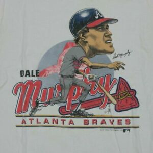 Atlanta Braves Player Rare Vintage 1988 Dale Murphy Shirt Vintage Men Gift Tee