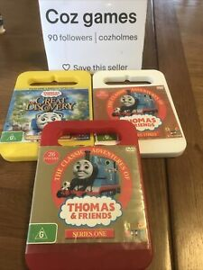 Thomas & Friends Series 1 And Series 3 And The Great Discovery DVD's Kids Trains