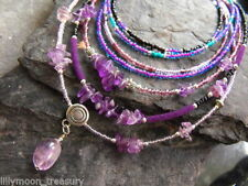 Glass Amethyst Costume Jewellery