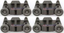 (4 Pack) W10195416 Dishwasher Lower Rack Wheel W10195416V, Ap5983730, Ps11722152