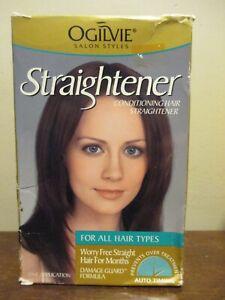 Ogilvie Hair Straightener : For all hair types