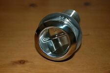 """2"""" STAINLESS STEEL SCUPPER DRAIN. 5-1/2"""" OAL, MIN. HULL THICKNESS 1-1/8"""""""