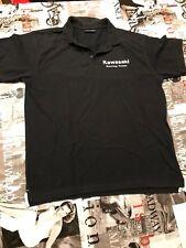 Kawasaki Racing Team, Polo Shirt, Motocross, Motorrad, Bike, Front und Backprint