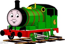 "Thomas train wall sticker percy stick ups peel & stick border cut out 5.5"" inch"