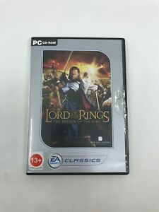 THE LORD OF THE RINGS THE RETURN OF THE KING 2003 PC Video Game EA RETROGAMING