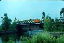 ORIGINAL SLIDE CANADIAN NATIONAL RAILWAY A-B-A 6501 6629 6512 MONTREAL 1977
