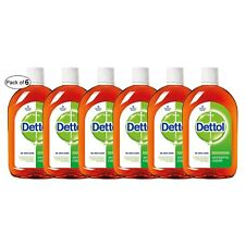 Dettol Antiseptic Liquid 16.90 oz (500ml) (Pack of 6)