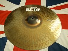 "Paiste 20"" Rude Crash / Ride Cymbal Excellent condition."