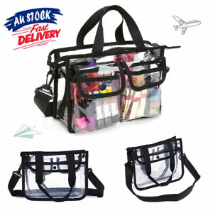 EVA Zipper Travel Clear Make Up Bag  GA Case Transparent Cosmetic Toiletry