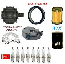 Tune Up Kit Air Oil Fuel Filters Wire Spark Plugs For GMC CABALLERO V8 5.0L 1978